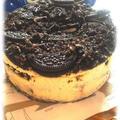 たっぷりオレオのベイクドチーズケーキ