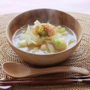 まびき蕪とレンズ豆のスープ☆