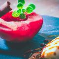 りんごのコンポート 赤ワイン風味