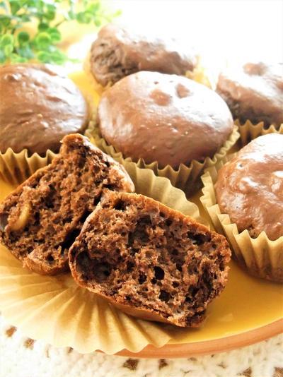 パフナッツココア カップケーキ