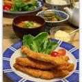 秋鮭でスティックフライ タルタルソース by miyukiさん