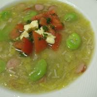 春野菜のとろ〜りスープ(レシピ)