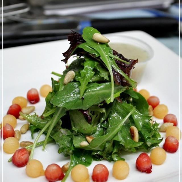 ル・コルドンブルーInternational cuisune/サラダのテスト