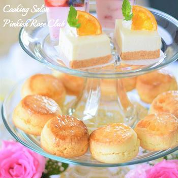 【料理教室】Pinkish Rose Club『8月・9月休講』のお知らせ