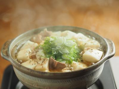 はんぺんと豆腐のスープ鍋