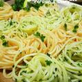 マ・マー早ゆで2分スパゲティdeごちそうの付け合せスパゲティ2種類♪