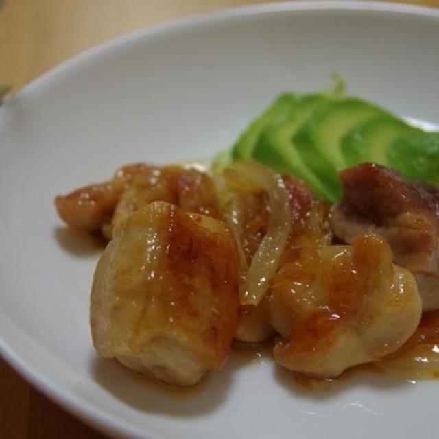 鶏の甘酢照り焼き☆