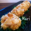 レンジ3分♡えのき&鶏のふわぷり♡皮なしシュウマイ by Mariさん