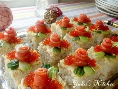 簡単☆美味しく☆美しい【寿司ケーキ】