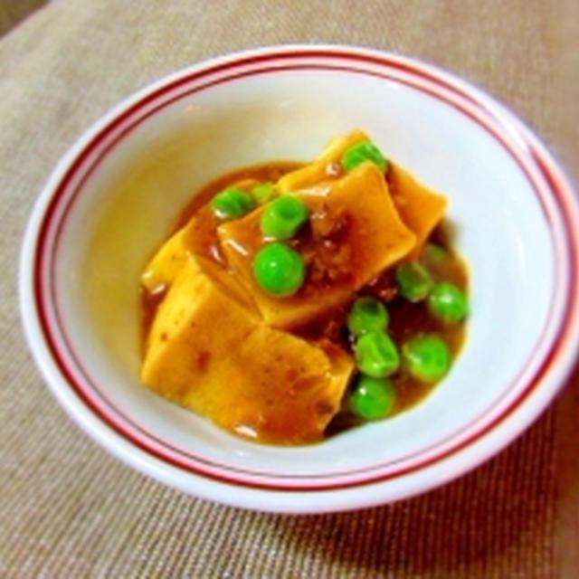 冷凍豆腐で麻婆煮