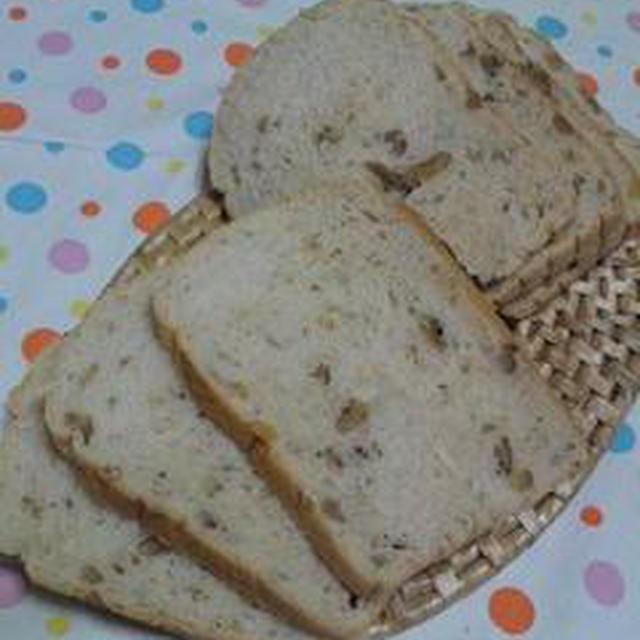 早焼き!くるみときび砂糖のパン