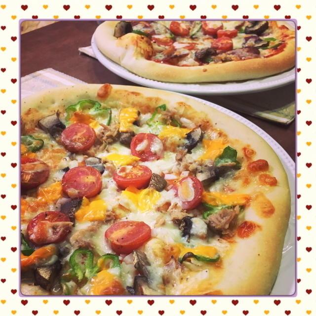 冷蔵庫の残りものをトッピング!お家でお手軽に、簡単本格手作りピザ(レシピ付)