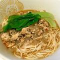 簡単スープをかけるだけ!アレンジ素麺☆時短坦々!