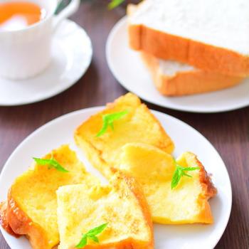 カルピス入り!フレンチトーストのレシピ