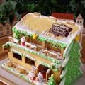 今年のクリスマスのヘクセンハウス(お菓子の家)☆2015年はサンタカフェです♪&御礼 by めろんぱんママさん