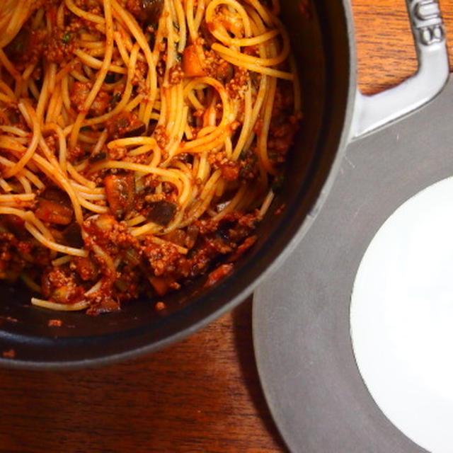 スパゲティ・ボロネーゼ 「アデル、ブルーは熱い色」