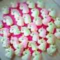 ユニコーン☆メレンゲクッキーの作り方 by ☆PinkiSweets☆ズボラレシピ研究所さん