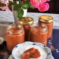 ■【贅沢に柿のジャム^^赤梅酒使いでポリフェノールたっぷり〜です♪】