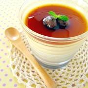 ふるとろっ♪うずら豆と豆乳の2層プリン by みぃさん