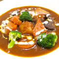 【洋食】「圧力鍋で☆簡単とろけるビーフシチュー」で晩ごはん。