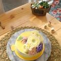 フラワーケーキ バタークリーム アドバンスト一回目(H.Uさん作品)