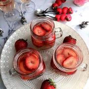 旬の時期に作りたい!彩り鮮やか♪「いちごゼリー」レシピ