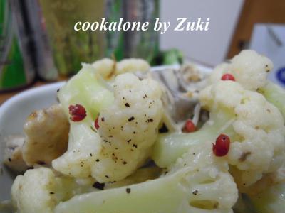 カリフラワーと鶏のクリーム煮