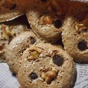 ミント風味のチョコメレンゲクッキー
