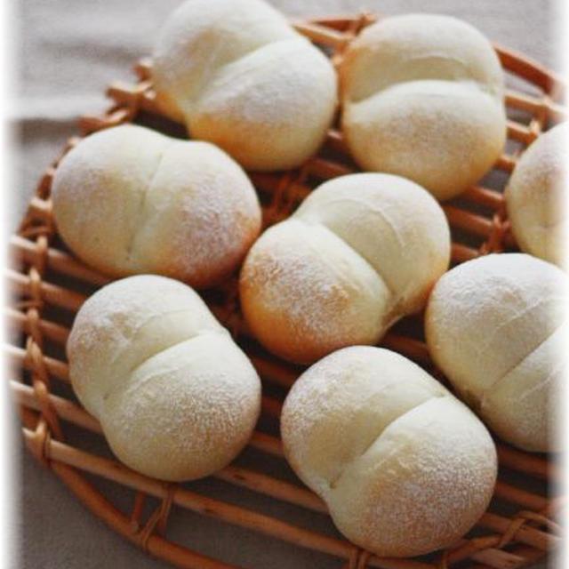ふわふわお尻パン♪と朝ごパン風景。