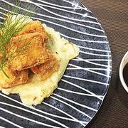 栄養素も豊富・低カロリーな~高野豆腐の鶏ひき肉はさみ揚げフライ