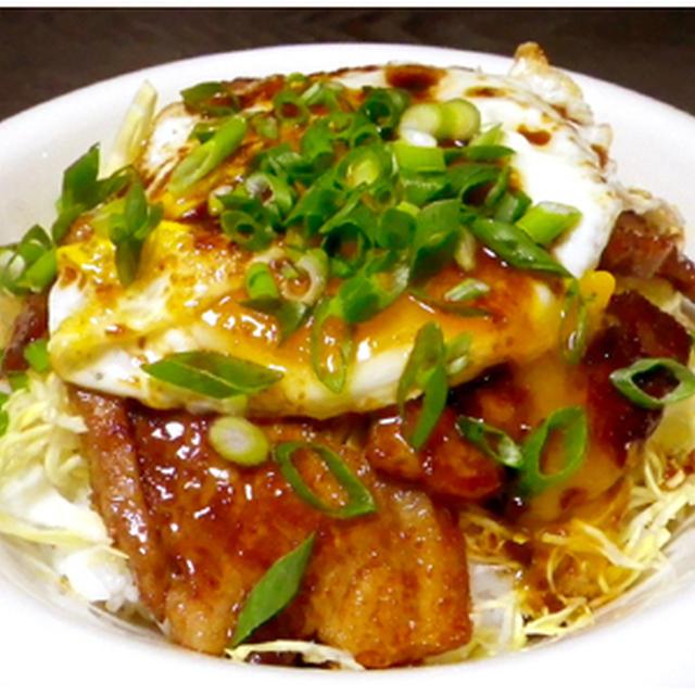 ジンたれ料理「焼豚卵飯編」