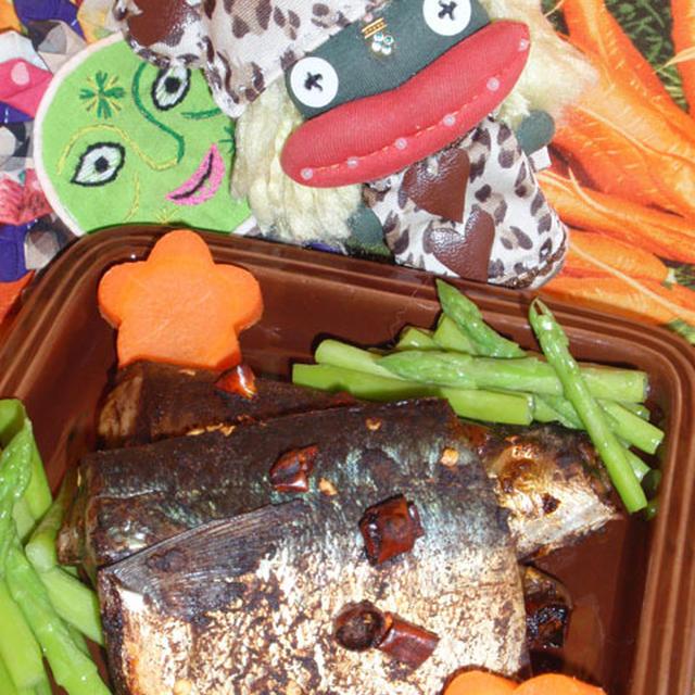 鯖のバルサミコマリネ焼き&もやしの棒棒鶏風サラダ(お家カフェ)