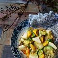 オトナを誘惑する香り。ワインに合うおつまみレシピ。ゴルゴンと果物にアボカド焼 by 青山 金魚さん