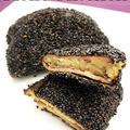 季節外れの焼き芋でおさつハムカツ★ファイヤーキング