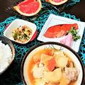 【おうちごはん】豚汁レシピ と リメイク   【久々に豚汁メインの夕食!】