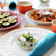 【タコとゴーヤのマリネ】・夏バテを防ぐのにぴったりの食材といえばゴーヤ。ゴーヤの苦味成...