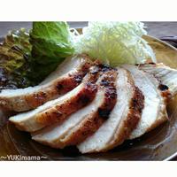 最後のくらしのアンテナ掲載♪節約はやうま〜焼肉のたれで簡単鶏むね肉のローストチキン(作りおき