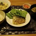 鯖のカレーソテー夜ご飯