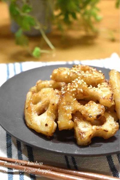 【レンコンの甘辛味噌】#作り置き#お惣菜#ご飯のおかず#お弁当おかず#簡単#つまみ食い