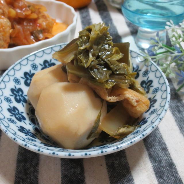 ほっこり☆里芋と白菜♪油揚げの煮物