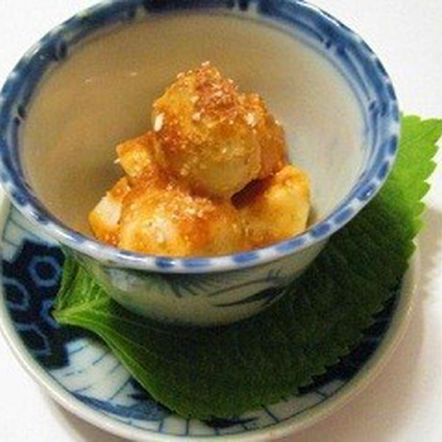 里芋の味噌マヨ和え