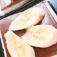 チョコレートとバナナのホットサンド