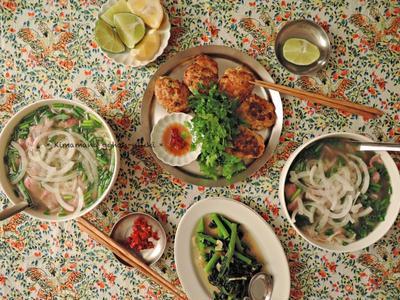 フォーボー Phở bò(牛肉のフォー)