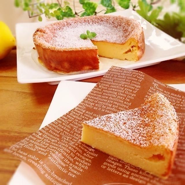 ヘルシー!んま〜♪しっとり濃厚!豆腐チーズケーキ!