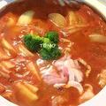 野菜が高いので♪トマトジュース鍋 by TOMO(柴犬プリン)さん