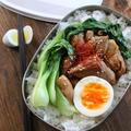 【簡単弁当】簡単♪15分でマヨポンチキン丼弁当 by Nigiricco*さん