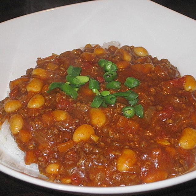 豆とトマトのカレー