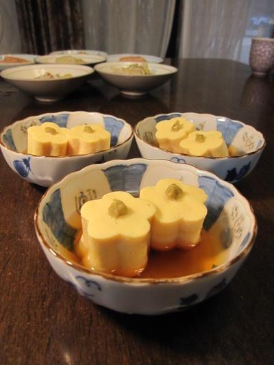 花型卵豆腐