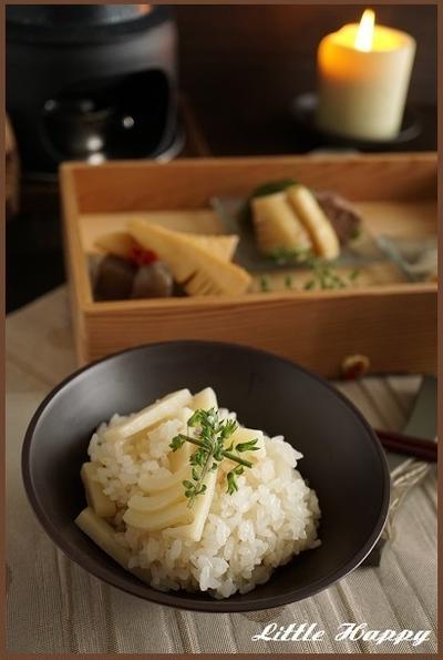 白だしベースのタケノコご飯(レシピ)