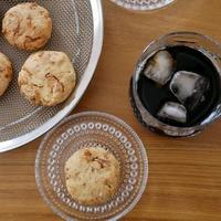 米粉×米油のクッキー*クルミ&メープル